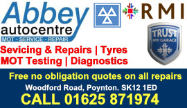 MOT Testing Hazel Grove - visit our website